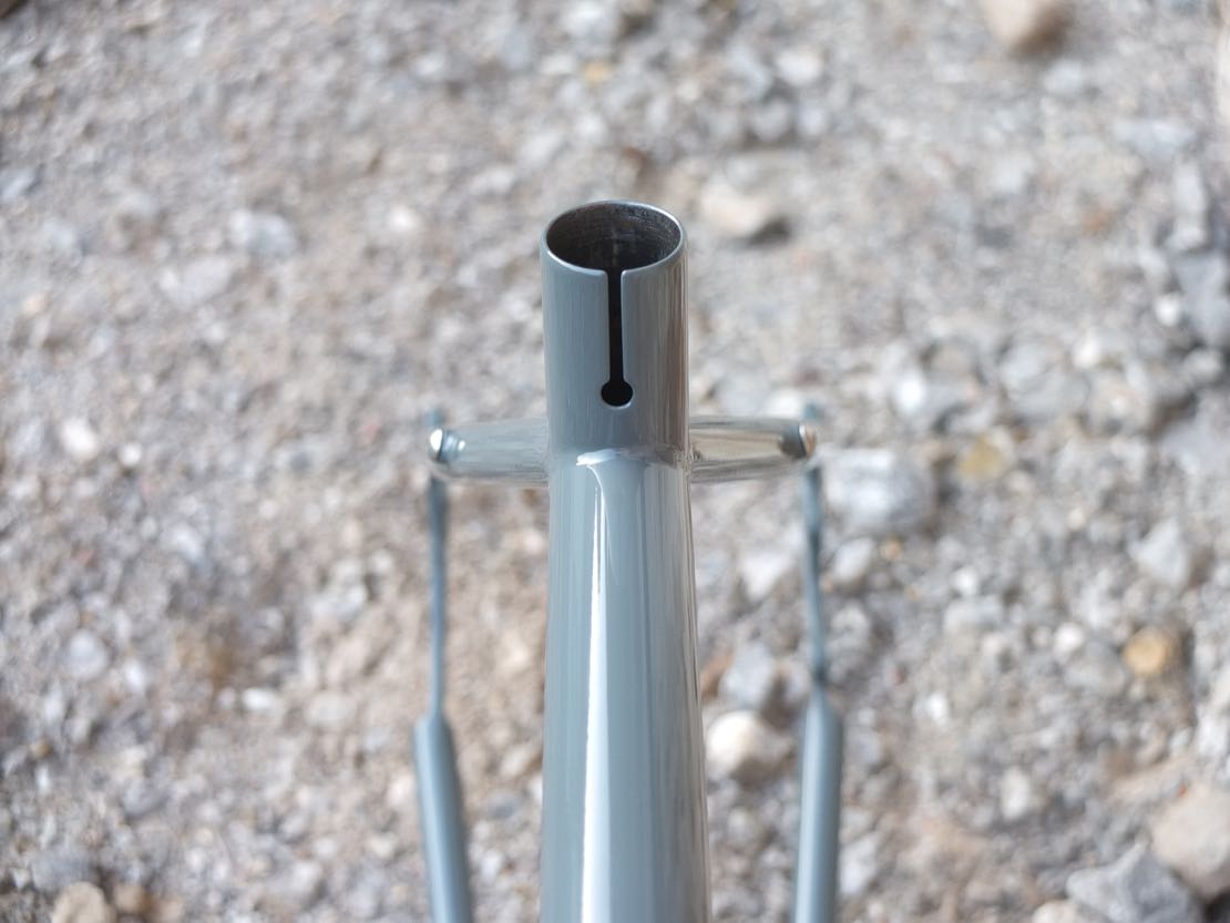 Monk Bike Works – Seat Tube